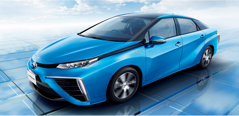 City To Test Drive New Hydrogen Ed Toyota