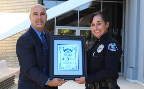 Costa Mesa Police Lt. Joyce LaPointe is latest to receive ...