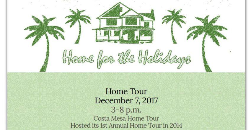 Costa Mesa Home For The Holidays Design And Home Tour City Of Costa Mesa News